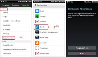 daftar gmail indonesia