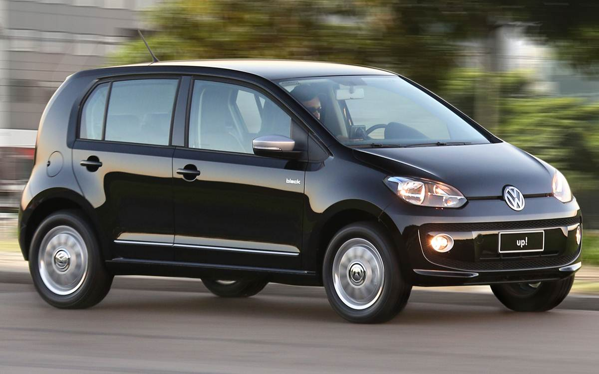 Volkswagen Up! Preto 2015