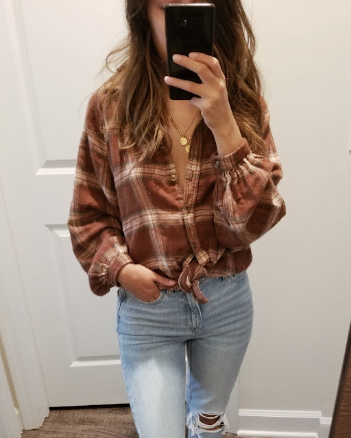 american eagle fall try on haul 2019