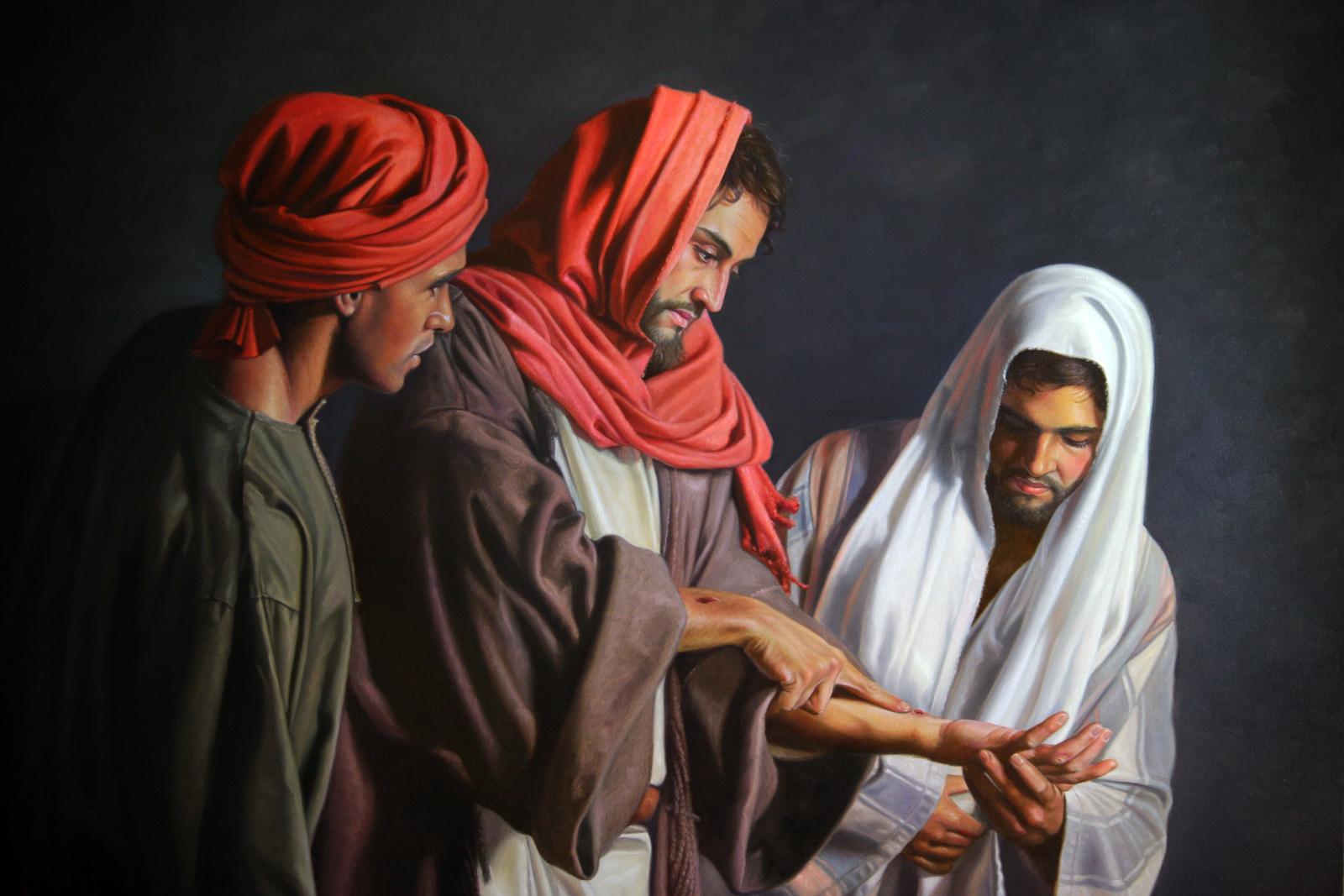 Tomé duvidou da ressurreição de Cristo