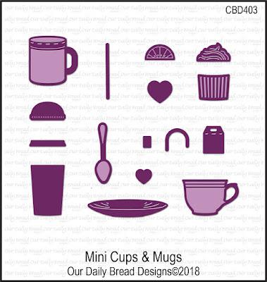 Custom Dies; Mini Cups & Mugs