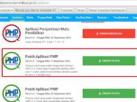 Cara Update Aplikasi PMP Versi 1.5 yang Benar