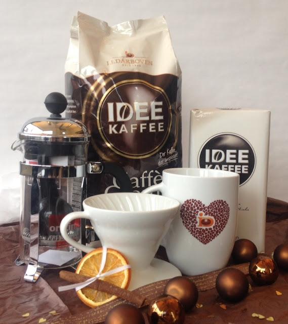 Kaffee und Handbrüh-Set