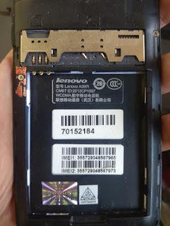 Cara Flash Lenovo A397i Firmware Tested