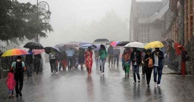 बागेश्वर: दोपहर बाद पहाड़ी इलाकों में बदला मौसम, जमकर हुई बारिश