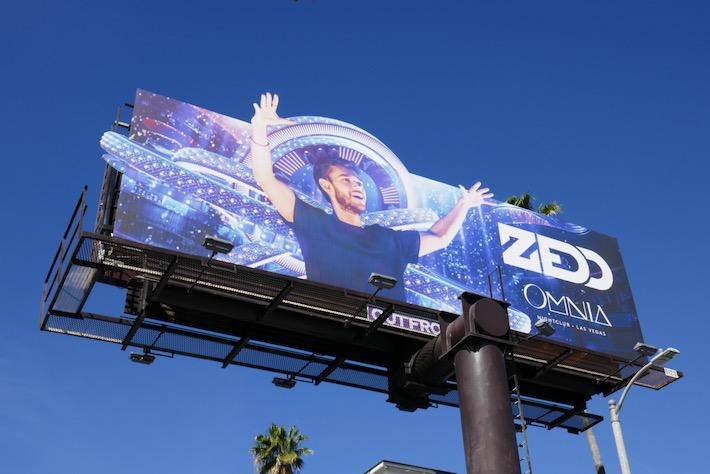 Zedd Omnia 2020 billboard