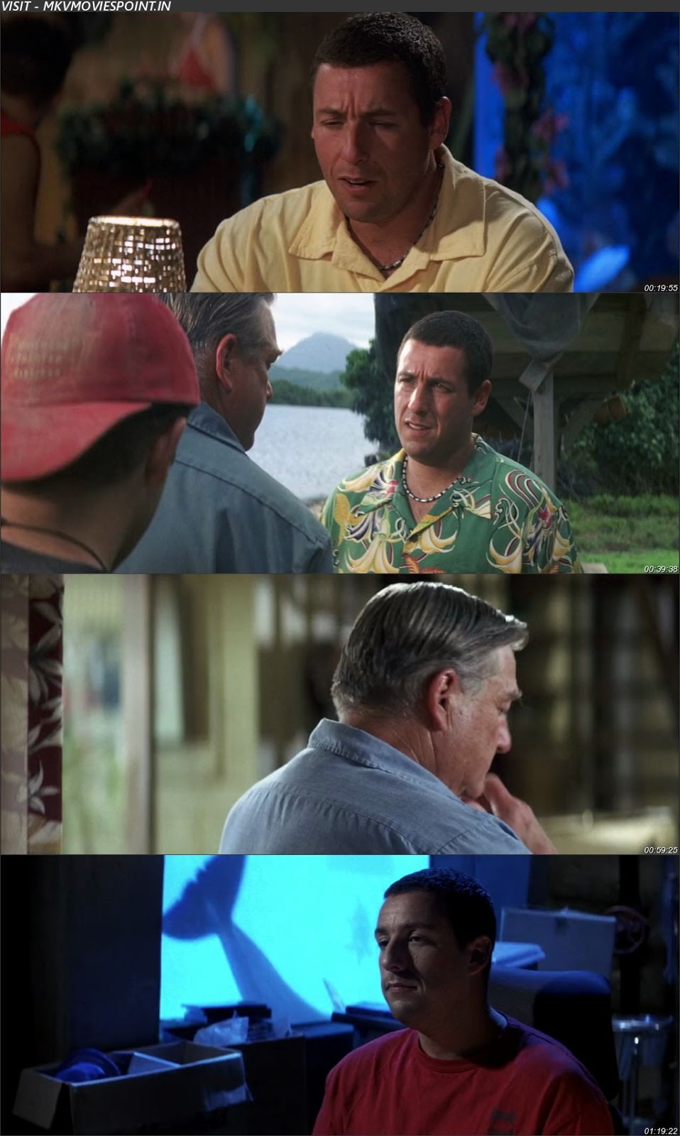 50 First Dates 2004 BluRay 720p 480p Dual Audio In Hindi
