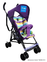 Kereta Bayi BabyElle S210 in Purple