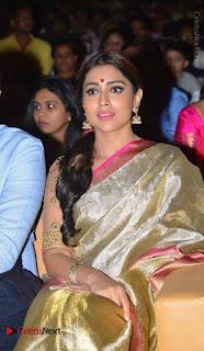 Actress Shriya Saran New Images in Silk Saree at Gautamiputra Satakarni Audio Launch  0014.jpg