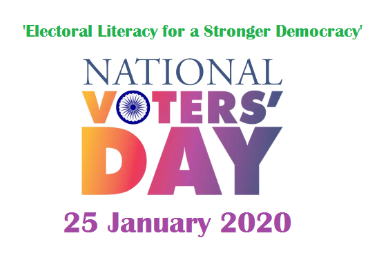 National Voters day January 25, 2020