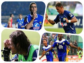 pesepakbola Liga Indonesia yang sudah menjadi malah