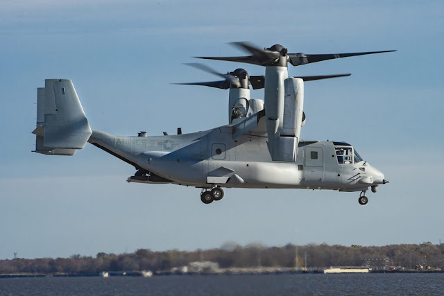 Marine Corps receive first modified osprey
