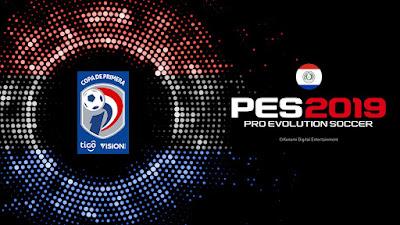 PES 2019 PS4 Option File Copa de Primera Paraguay Season 2018/2019