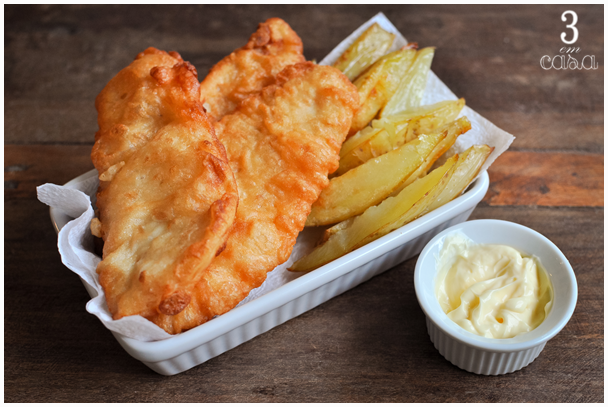 fish and chips como fazer