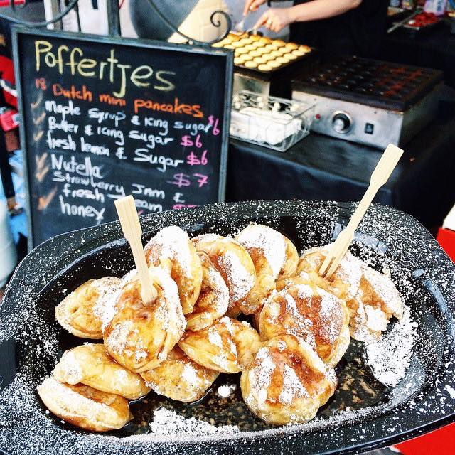 Melbournes Famous Poffertjes, Dutch Mini Pancakes, Event catering