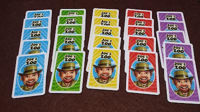 ジョーの動物園 予想カード裏面