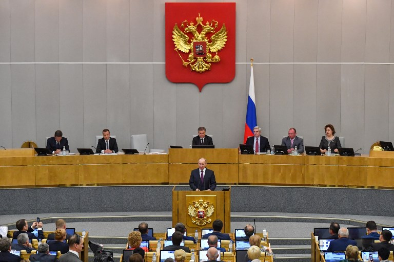 Russian Parliament  going to make some changes in constitution