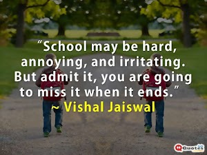 School Life Quotes & Status Lines For Friends