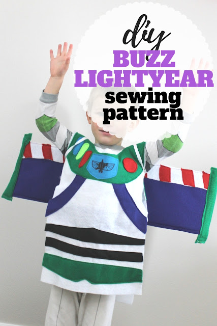 Follow this step by step tutorial and free pattern to create your own diy buzz lightyear costume.