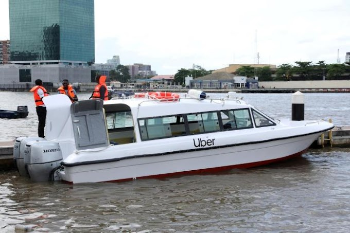 Uber Launches Boat Services In Lagos