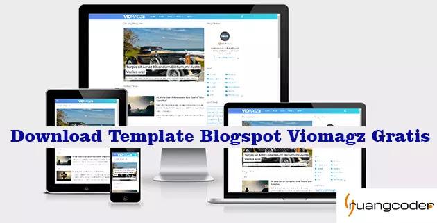 Download Template Blogspot Viomagz Gratis
