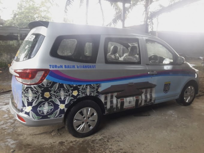 Mantab...Organda Depok Ciptakan Prototipe Angkot Full AC
