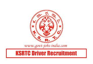 KSRTC Driver Recruitment 2020