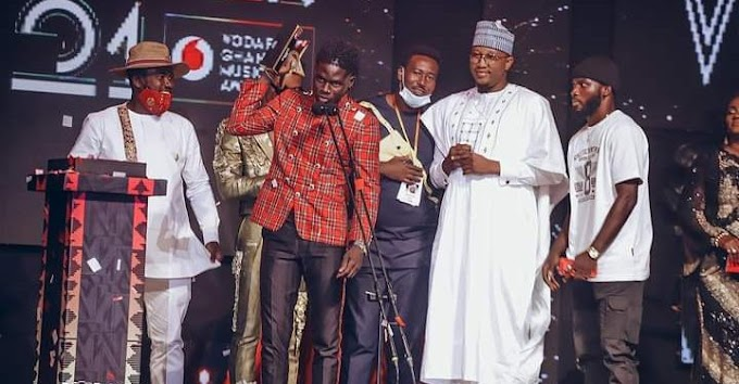 Second Round: Kuami Eugene beats Sarkodie, others to win Artiste of the Year at 2020 VGMA