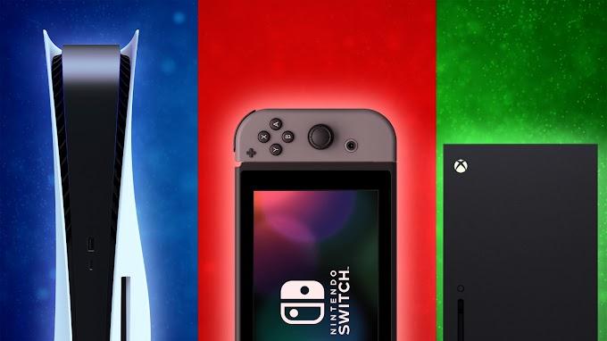 Sorteio de um PS5 ou Xbox Series X ou Nintendo Switch / Switch Lite