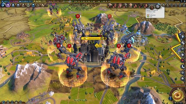 Imagem do Sid Meier's Civilization VI