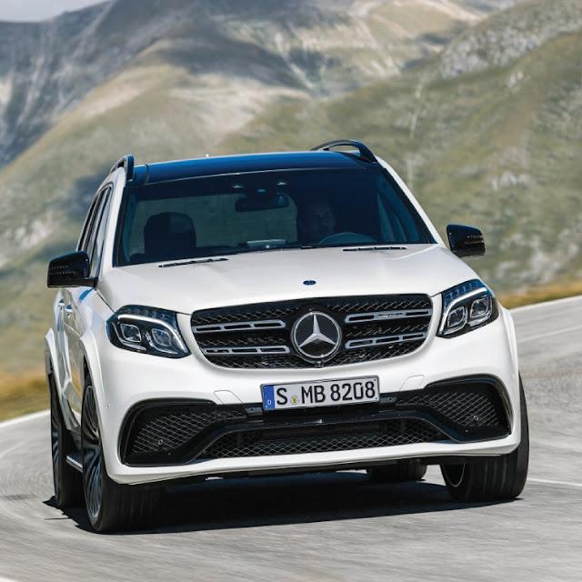 Sejarah Mercedes-Benz GLS