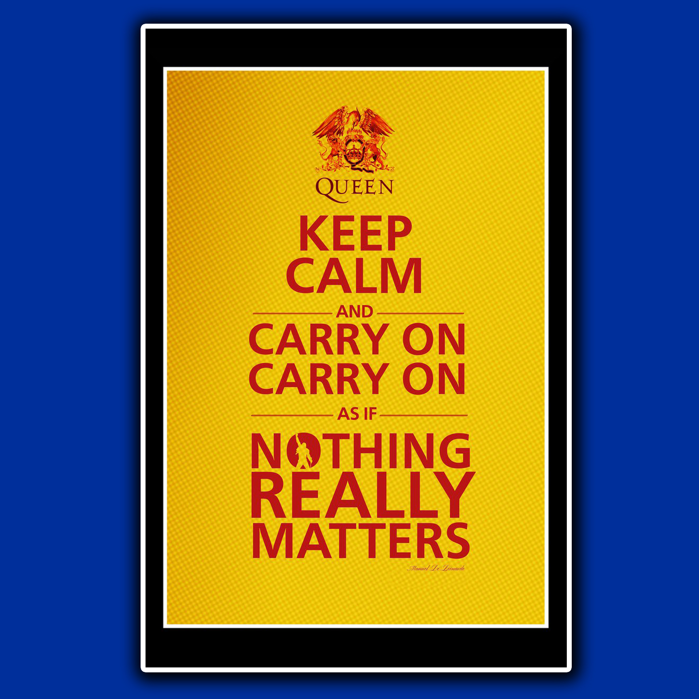 POSTER CUSTOM, POSTER QUOTE, POSTER KEEP CALM