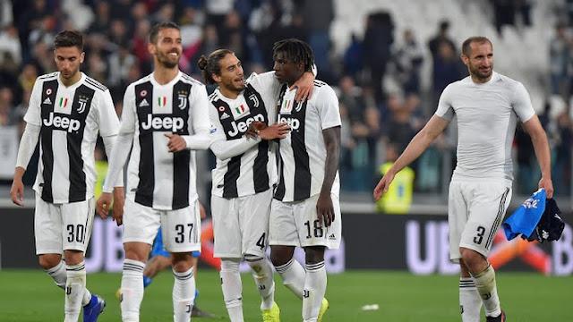 """La """"Juve"""" asegura su presencia en la Champions 2019/20"""