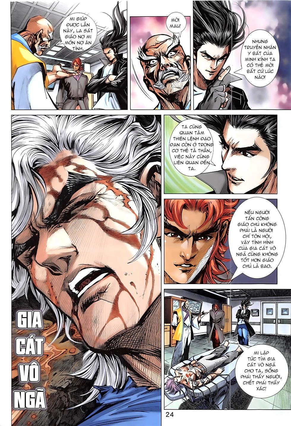 Tân Tác Long Hổ Môn Chap 837 page 24 - Truyentranhaz.net
