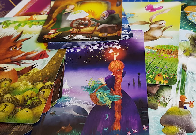 Story Chest family imaginative board game review beautiful storytelling card deck