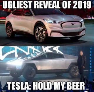 Tesla CyberTruck Meme by @streetams on Instagram