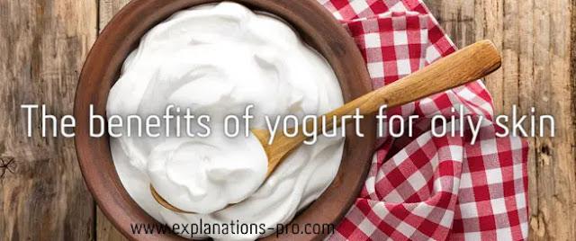 The benefits of yogurt for oily skin