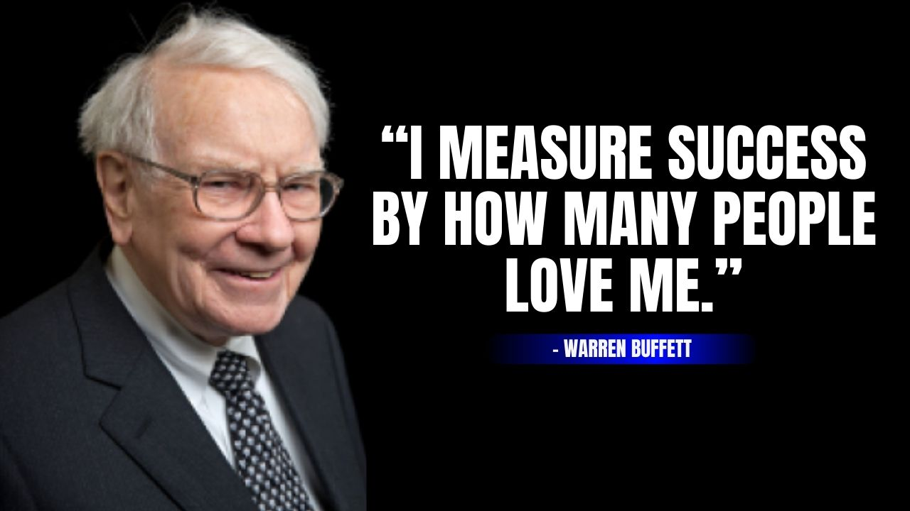 Warren Buffett Quotes about success