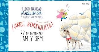 ARRE BORRIQUITA El Musical  por María Del Sol y Cantaclaro