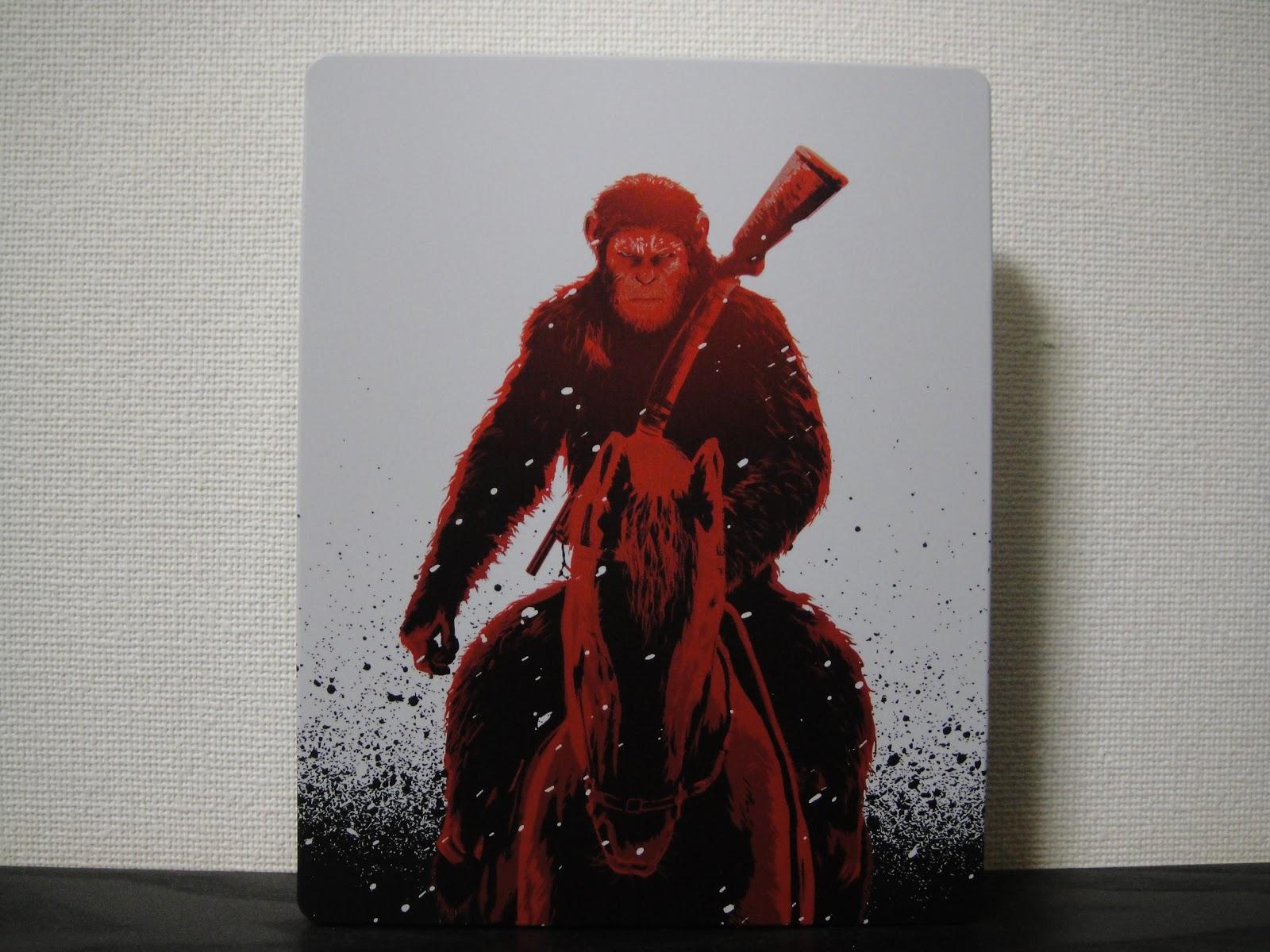 猿の惑星聖戦紀スチールブック War For The Planet Of The Apes