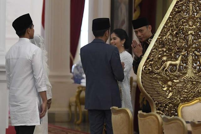 Sambangi Jokowi di Istana, Demokrat Makin Mesra dengan PDIP