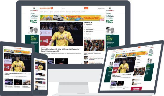 Tema WordPress Terbaik untuk Website Berita - Best Magazine News WP Themes