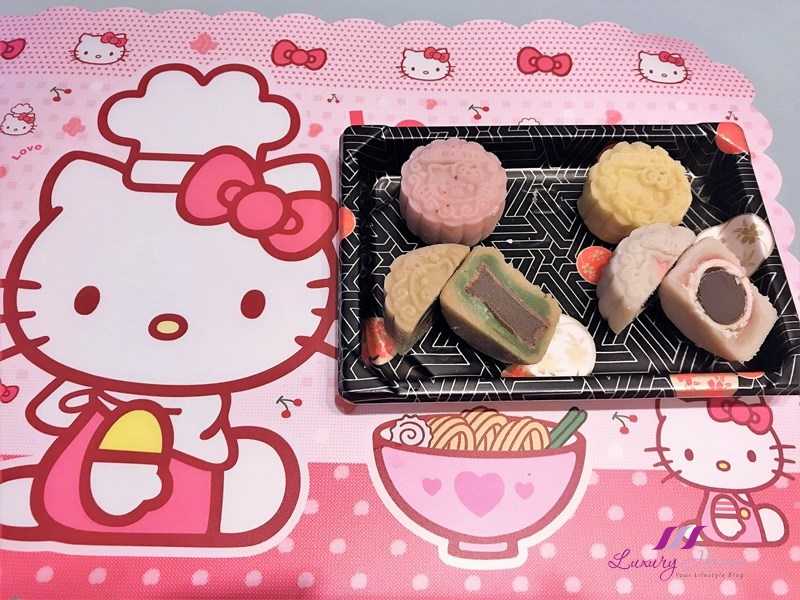 cute hello kitty snowskin mooncakes chocolate truffles recipe