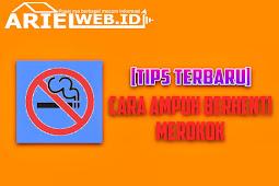 Tips Ampuh Berhenti Merokok Ala Bang Ariel