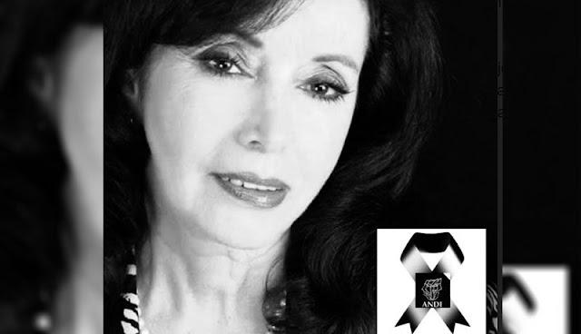 Covid se lleva a Sara Monar gran actriz
