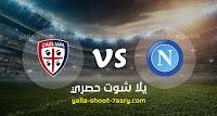 موعد مباراة نابولي وكالياري اليوم الاربعاء بتاريخ 25-09-2019 في الدوري الايطالي
