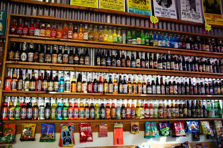 downtown San Luis Obispo California Rocket Fizz
