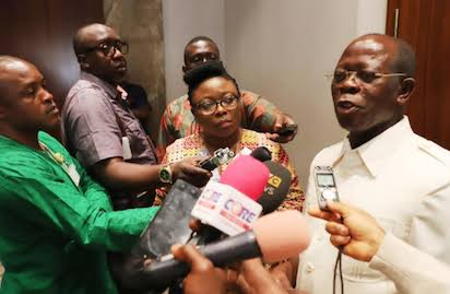 APC Chairman Oshiomhole Reacts As NewPDP Dumps Party