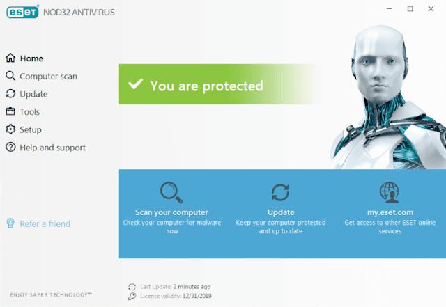 حماية الحاسوب من التهديدات الالكترونية