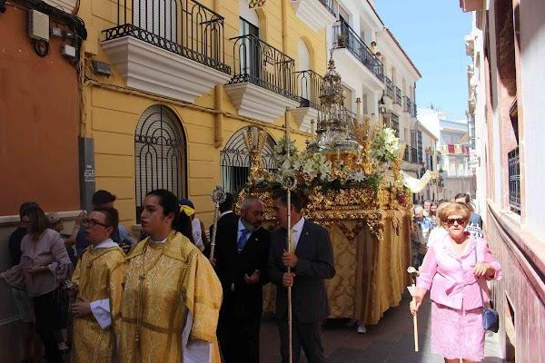Suspendida la procesión del Corpus en Cabra por el coronavirus